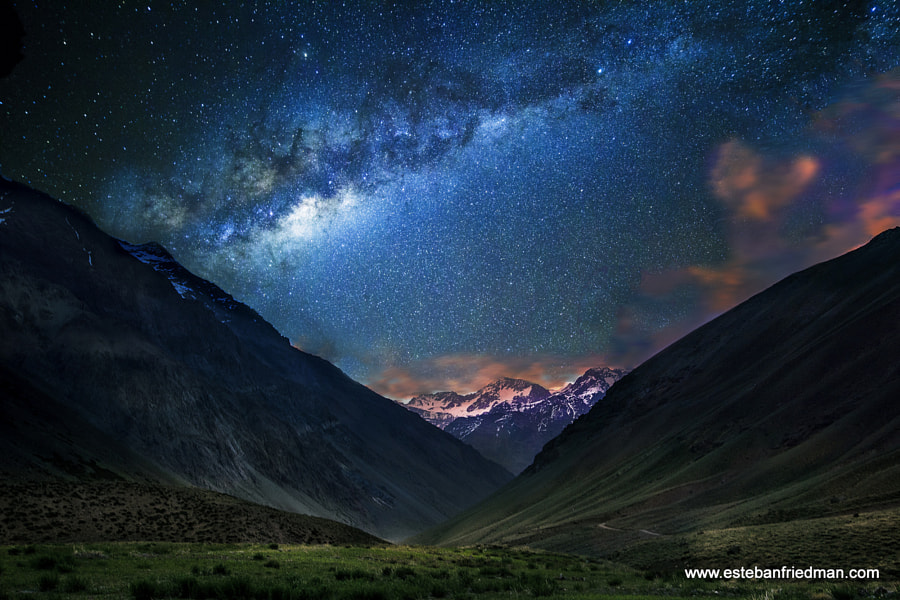 Photograph juncal milkyway by esteban friedman on 500px