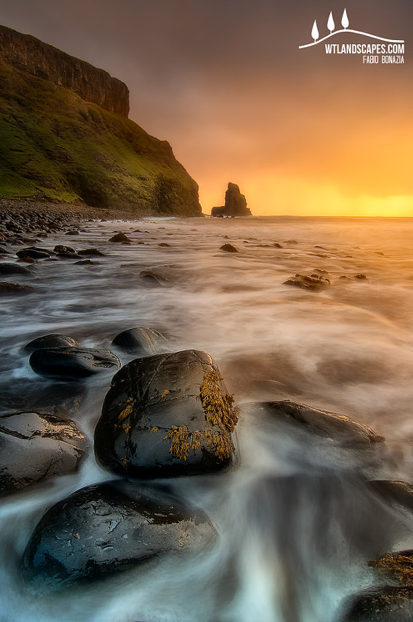 Photograph Talisker Bay by Fabio Bonazia on 500px