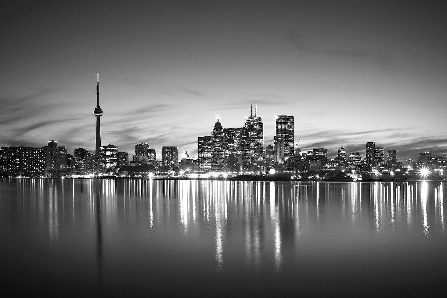 Photograph Late Night Toronto by Evgeny Tchebotarev on 500px