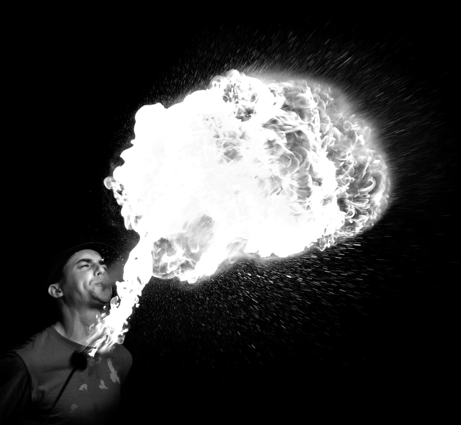 Photograph Firebreath by Esten Hurtle on 500px