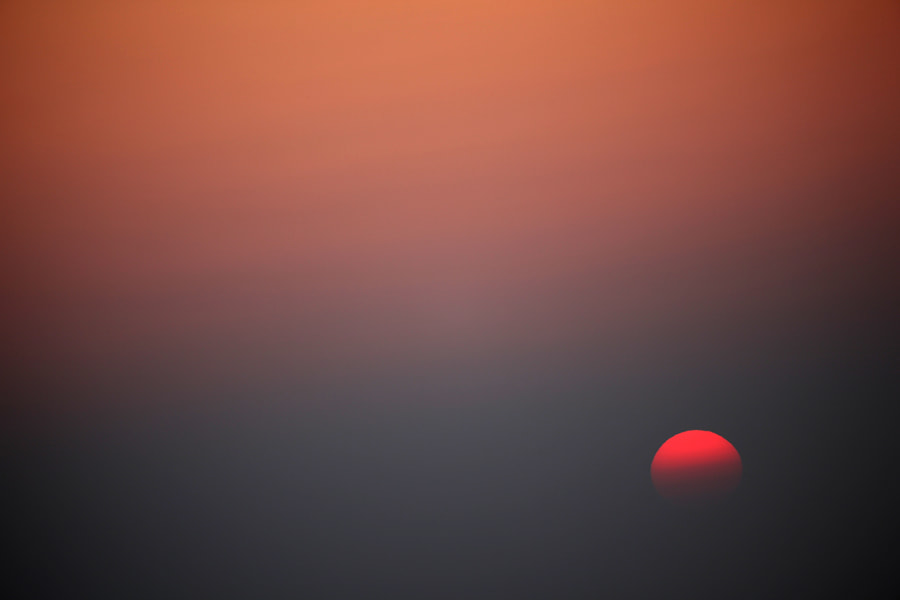 Ying & Yang Sun over Blackpool, Triptych #3.