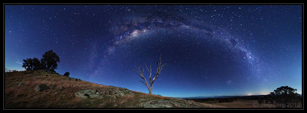 Photograph Milky Waybow by Greg Gibbs on 500px