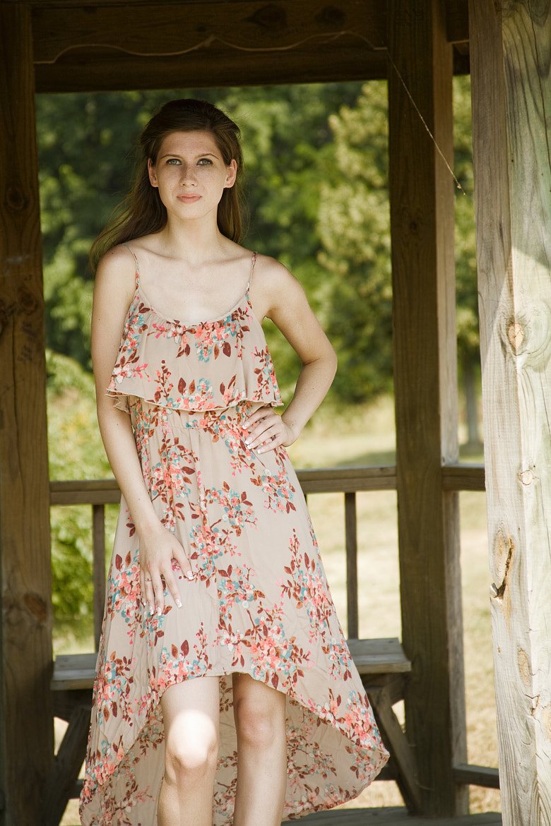 Photograph Floral Dress by Timmy Marsee on 500px