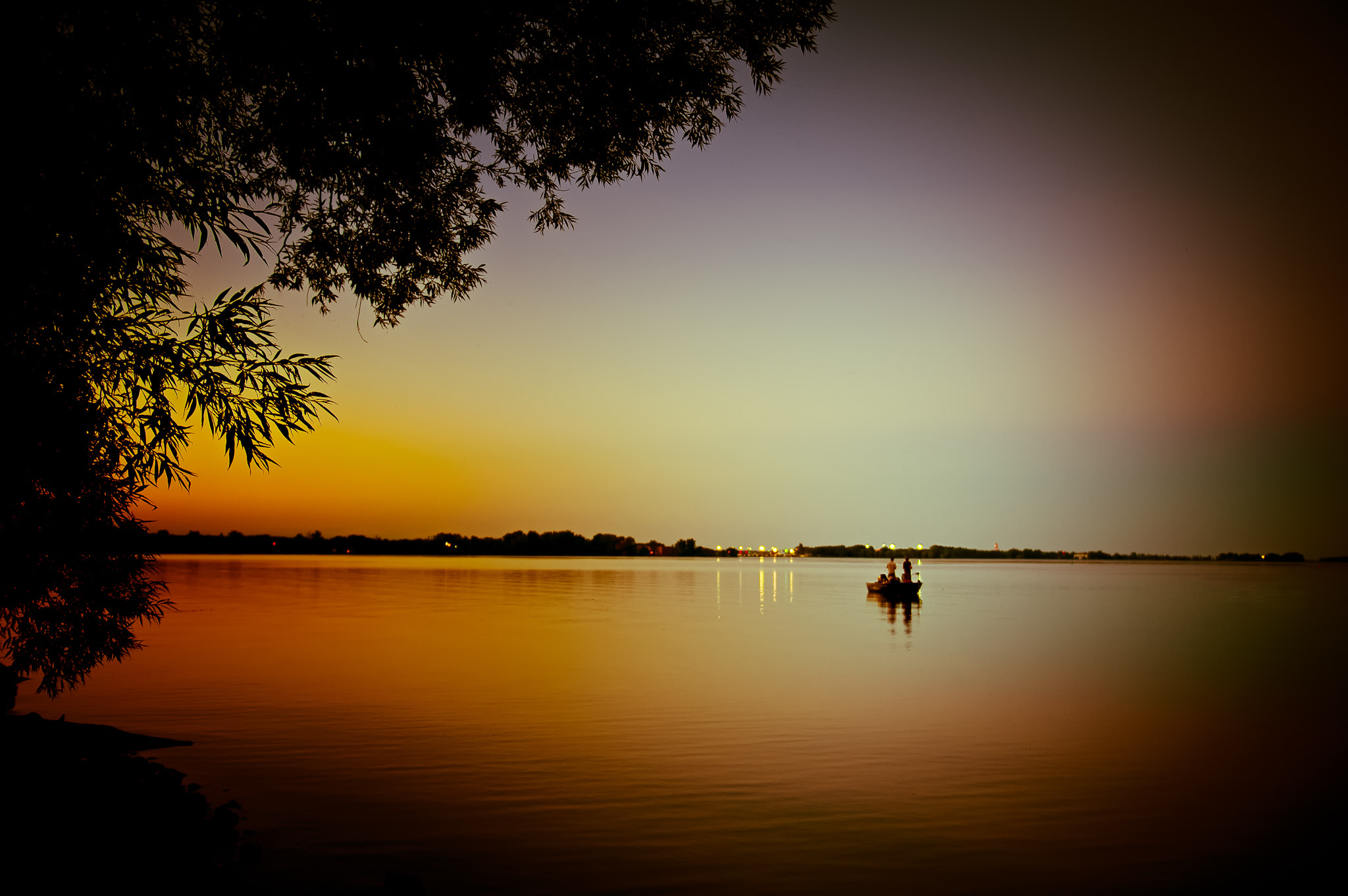 Photograph Sunset fishing by Alessandro Cancian on 500px