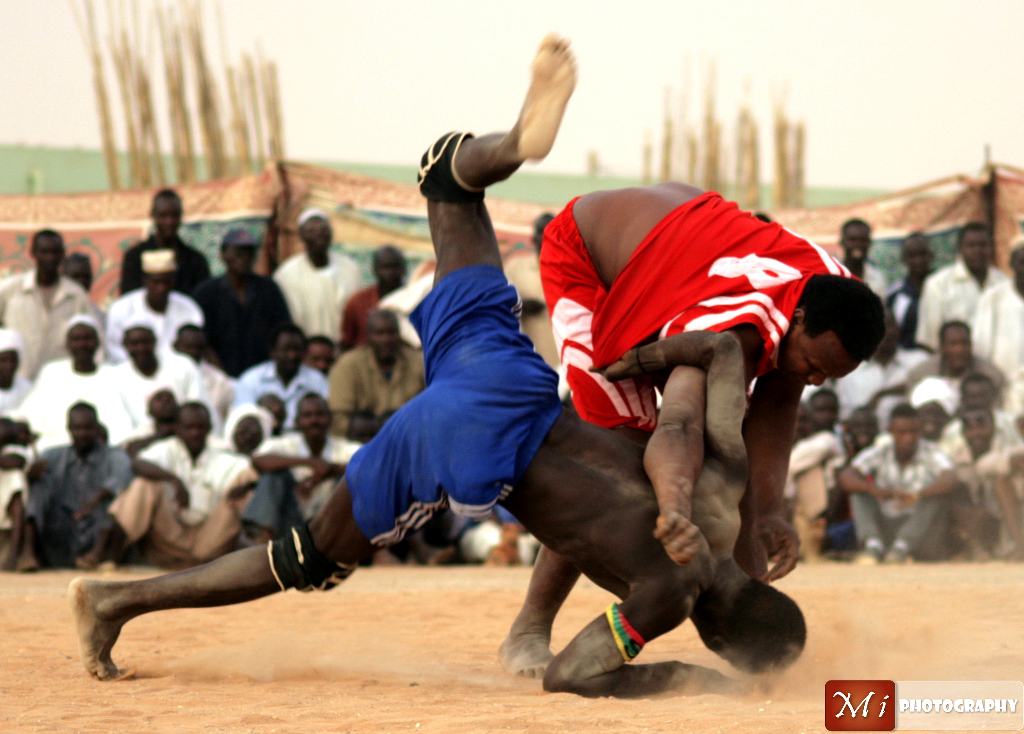 Photograph Nuba Wrestling  by Mohamed Ismael on 500px