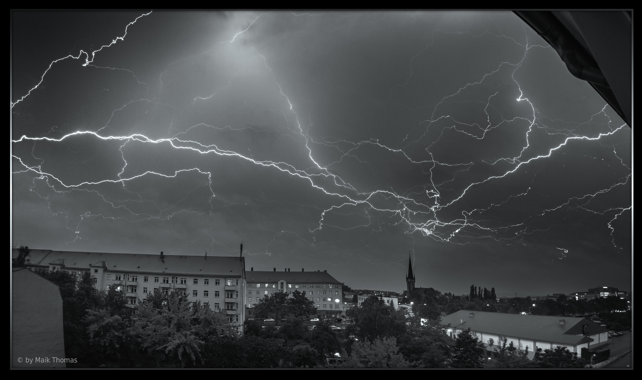 Photograph Lightnings over Dresden 02-07-2012 by Maik Thomas on 500px