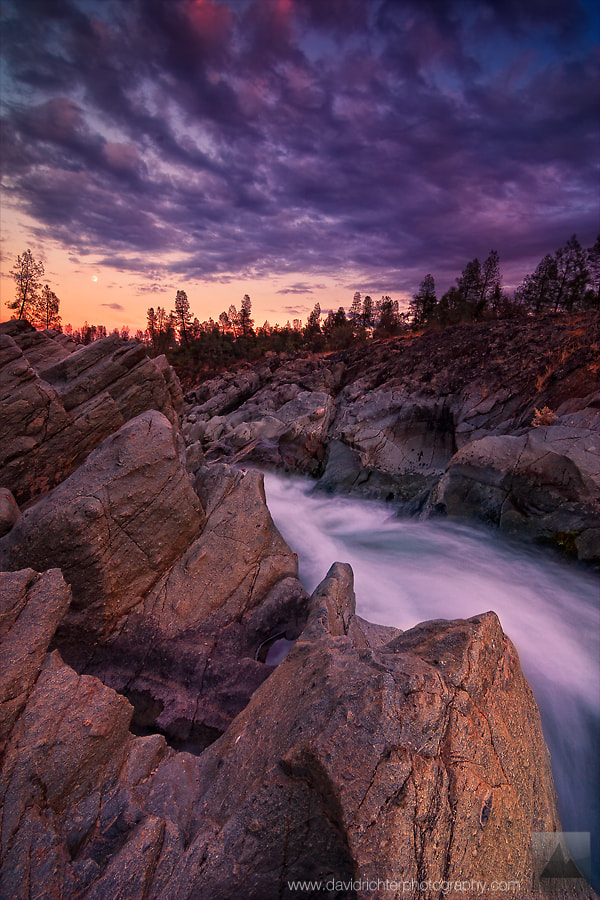 Photograph Clear Creek Sunset by David Richter on 500px