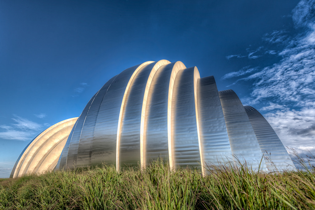 Photograph The Kauffman Center By Day by  W Brian Duncan on 500px