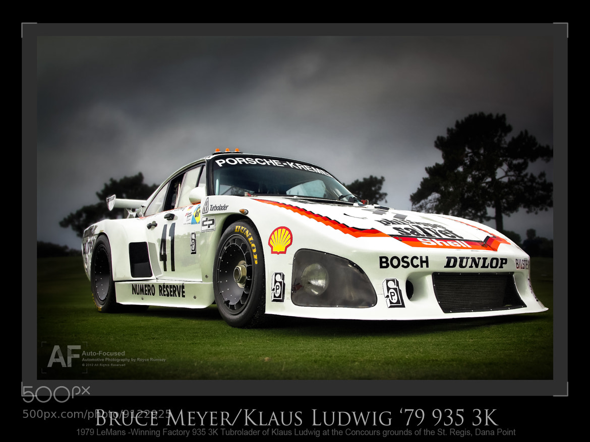 Photograph LeMans-winning Factory Porsche 935 K3 by Royce Rumsey on 500px
