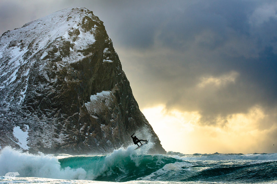 Photograph Catching Air by Chris  Burkard on 500px