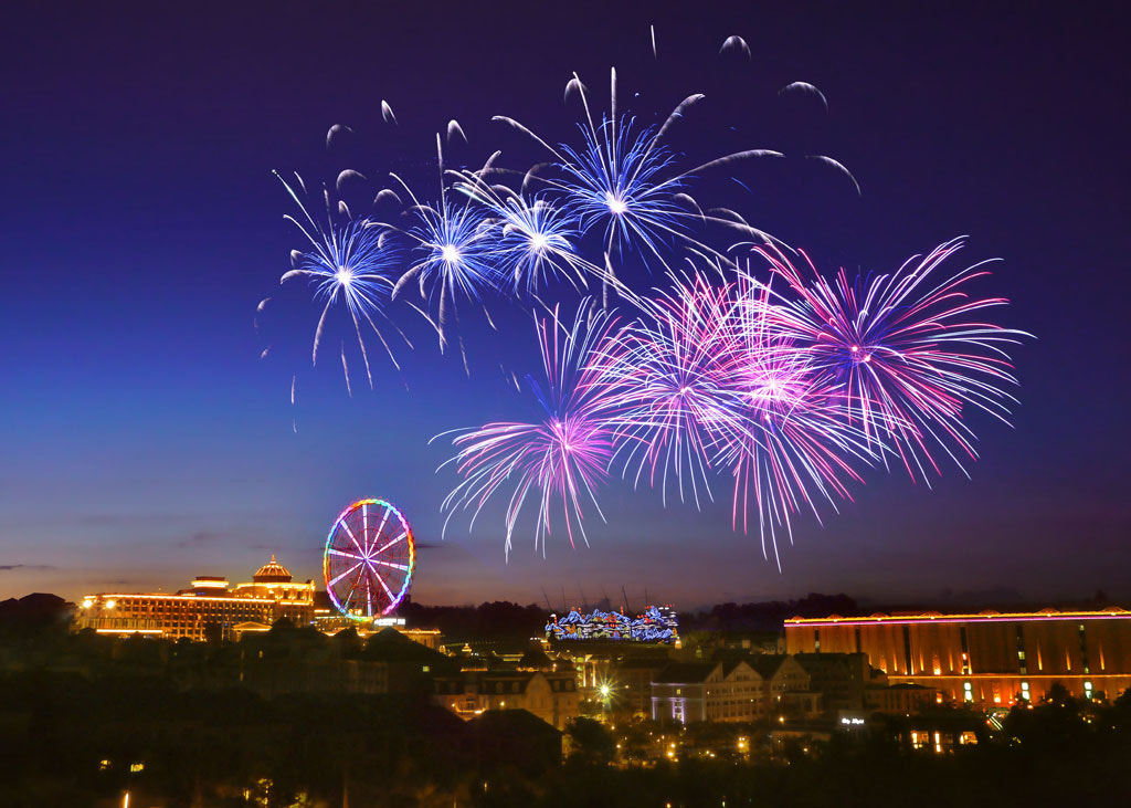 Photograph Fireworks Show by lily su on 500px