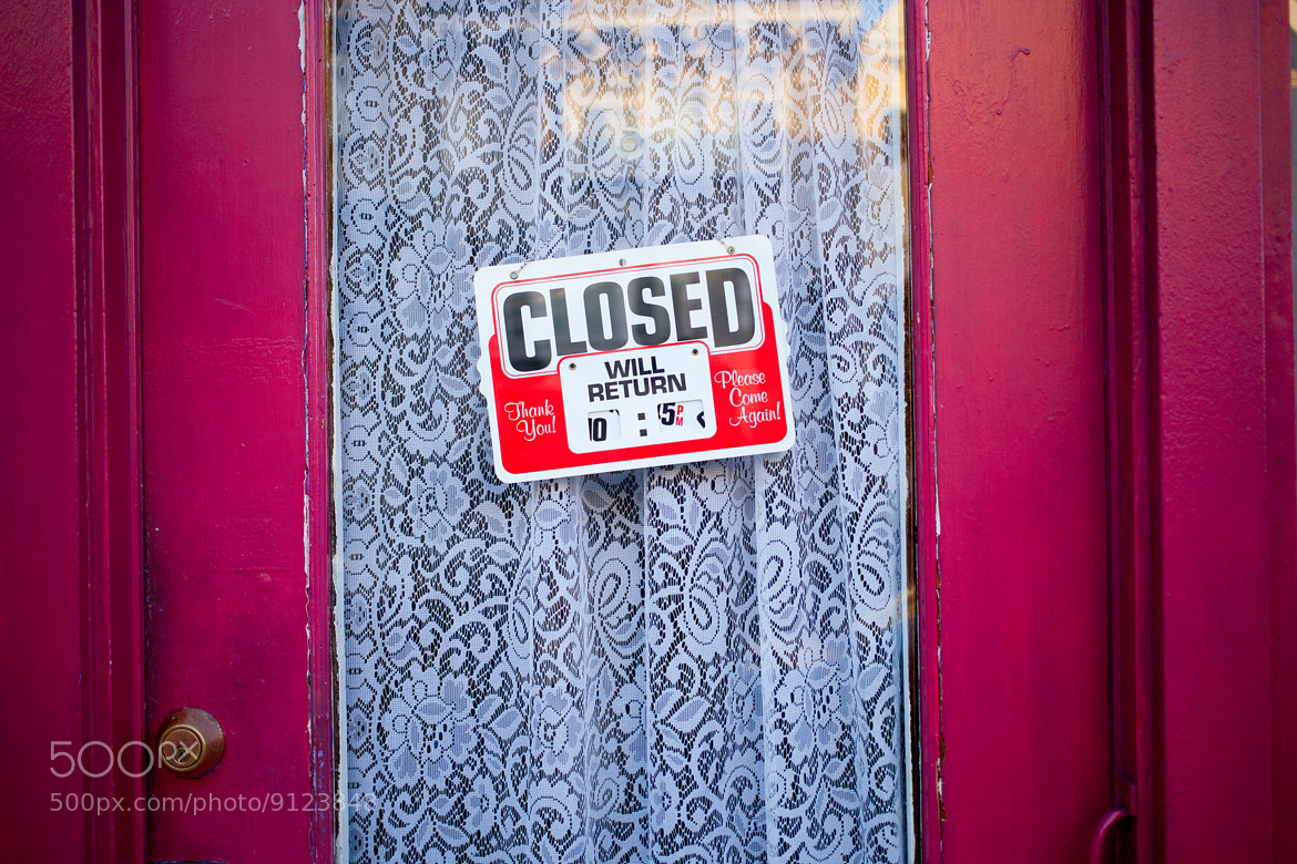 Photograph Closed by Jarques Pretorius on 500px