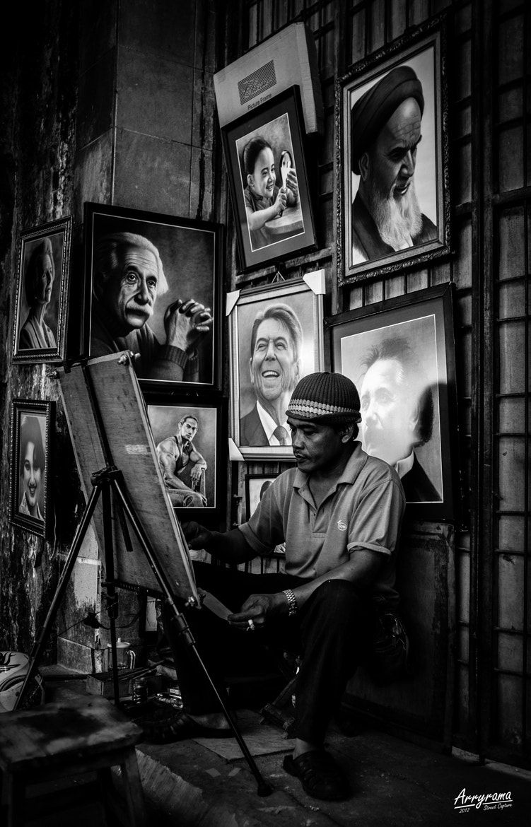 Photograph Portraitist by Arry Ramadhan on 500px