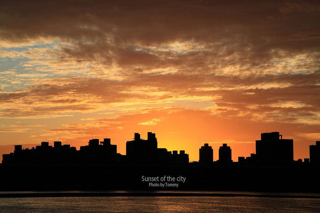 Photograph The sunset of city by Tommy Hsieh on 500px