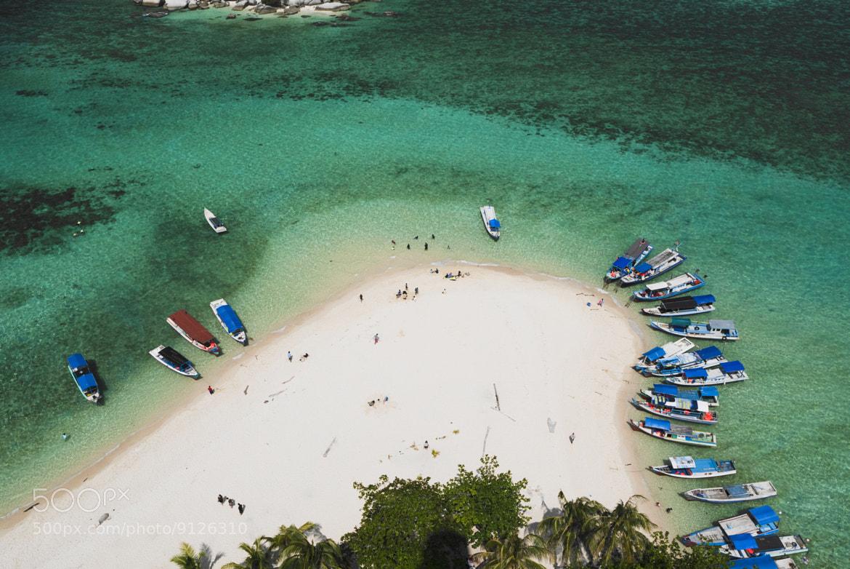 Photograph Lengkuas Island beach by Baskoro Hendrawan on 500px