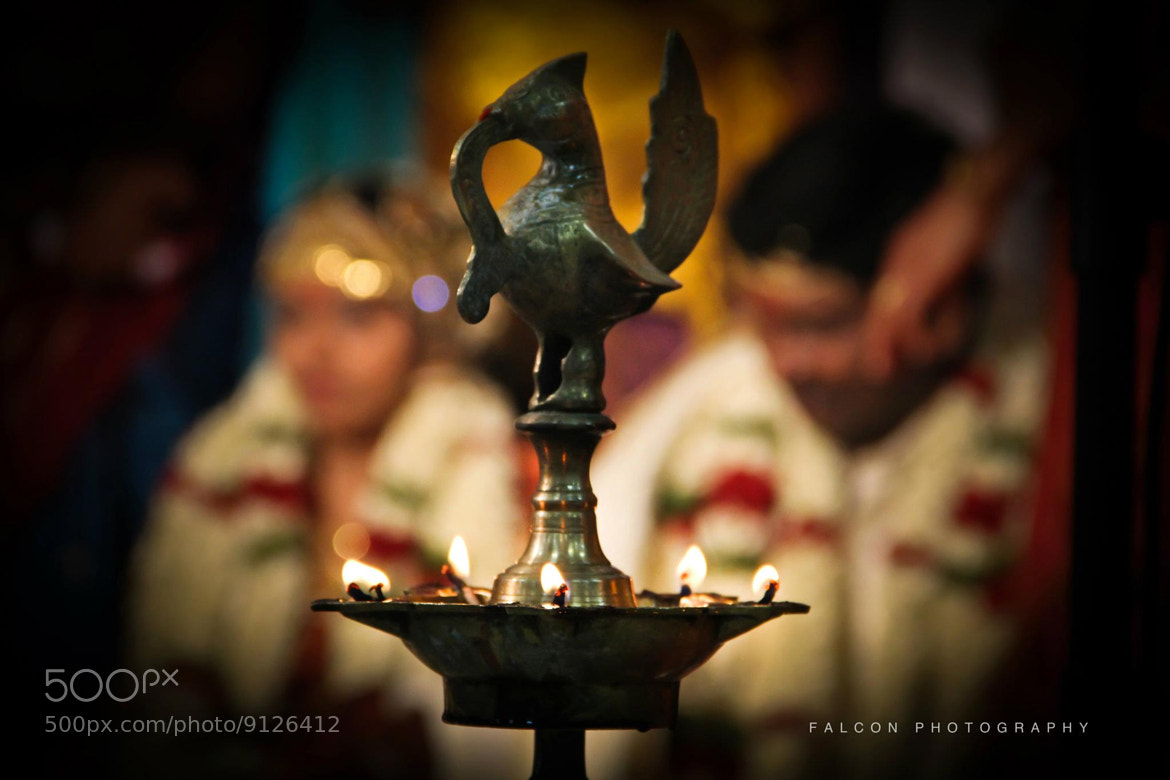 Photograph Bokeh of Kuthu vilakku by Falcon Fotography on 500px