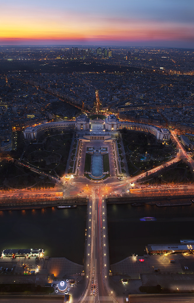 Photograph Trocadero from the Eiffel Tower by Cal Redback on 500px