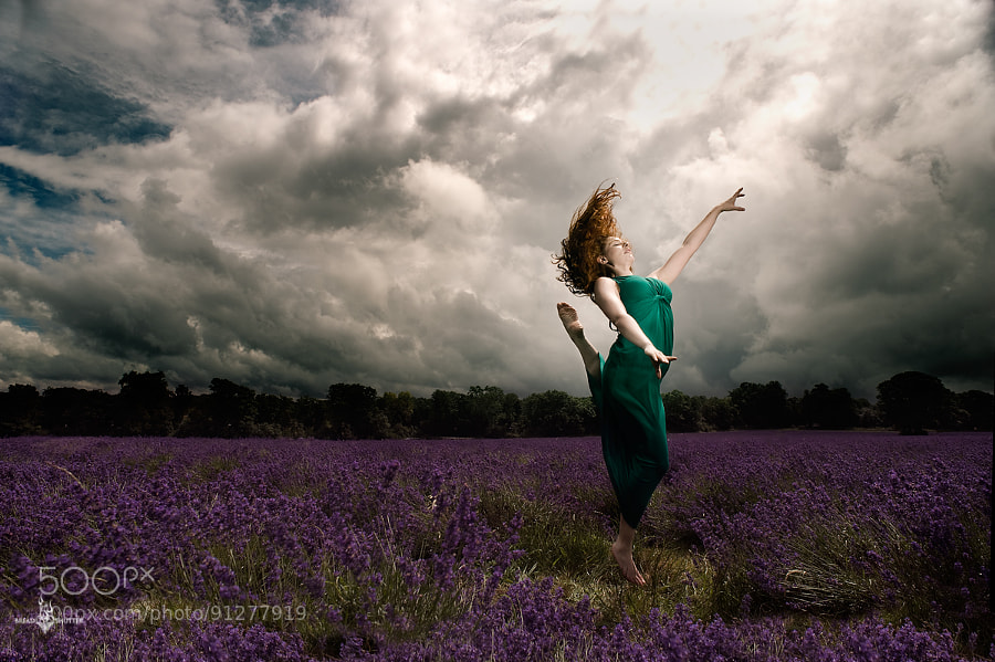 Purple dance by BreadandShutter