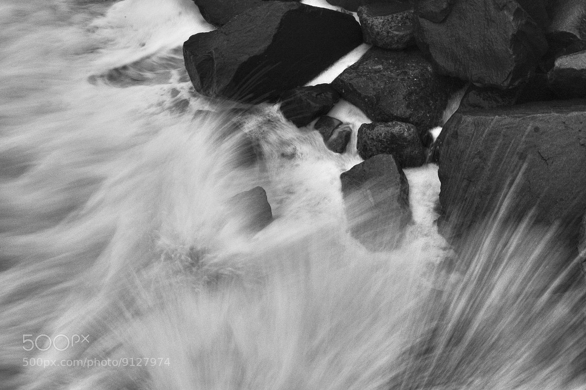 Photograph Waves Crash on the Rocks in Oceanside- July 2, 2012 by Rich Cruse on 500px