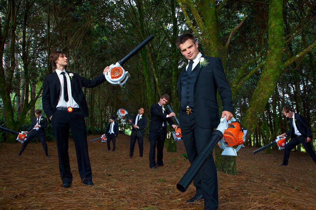 Photograph Grooms Wedding Grounds Maintenance Team by Greg & Evalyn Parsons on 500px