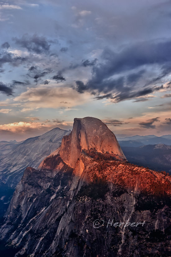 Photograph Half Dome sunset 2 by Herbert Wong on 500px
