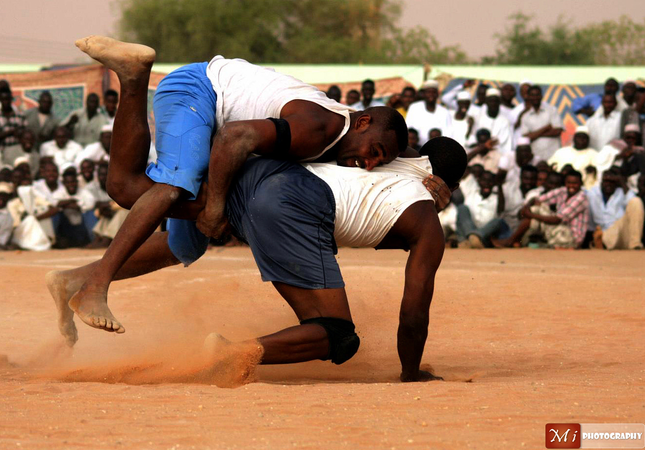 Photograph Nuba Wrestling. by Mohamed Ismael on 500px