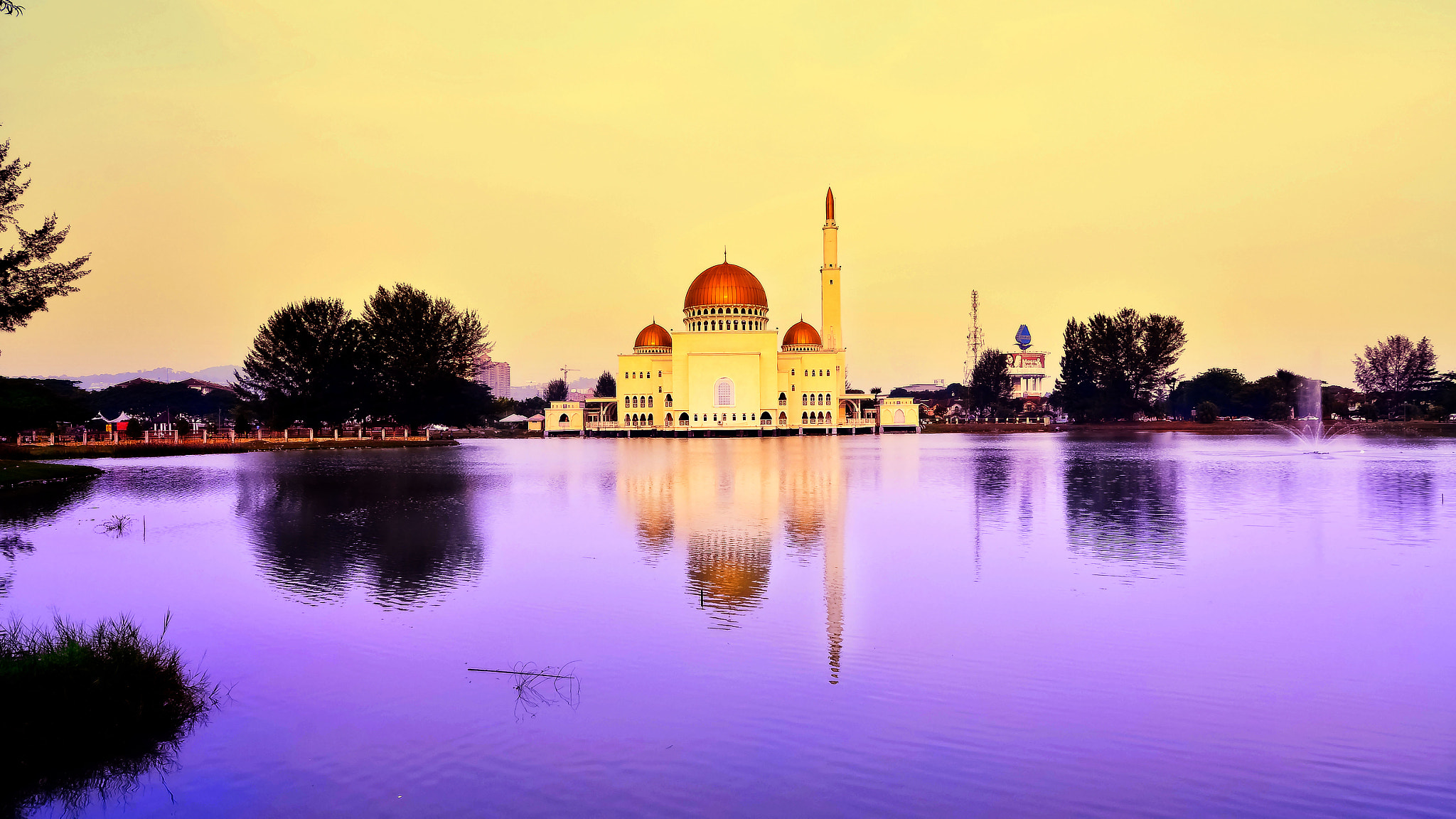 Photograph Floating Mosque by S e i n on 500px