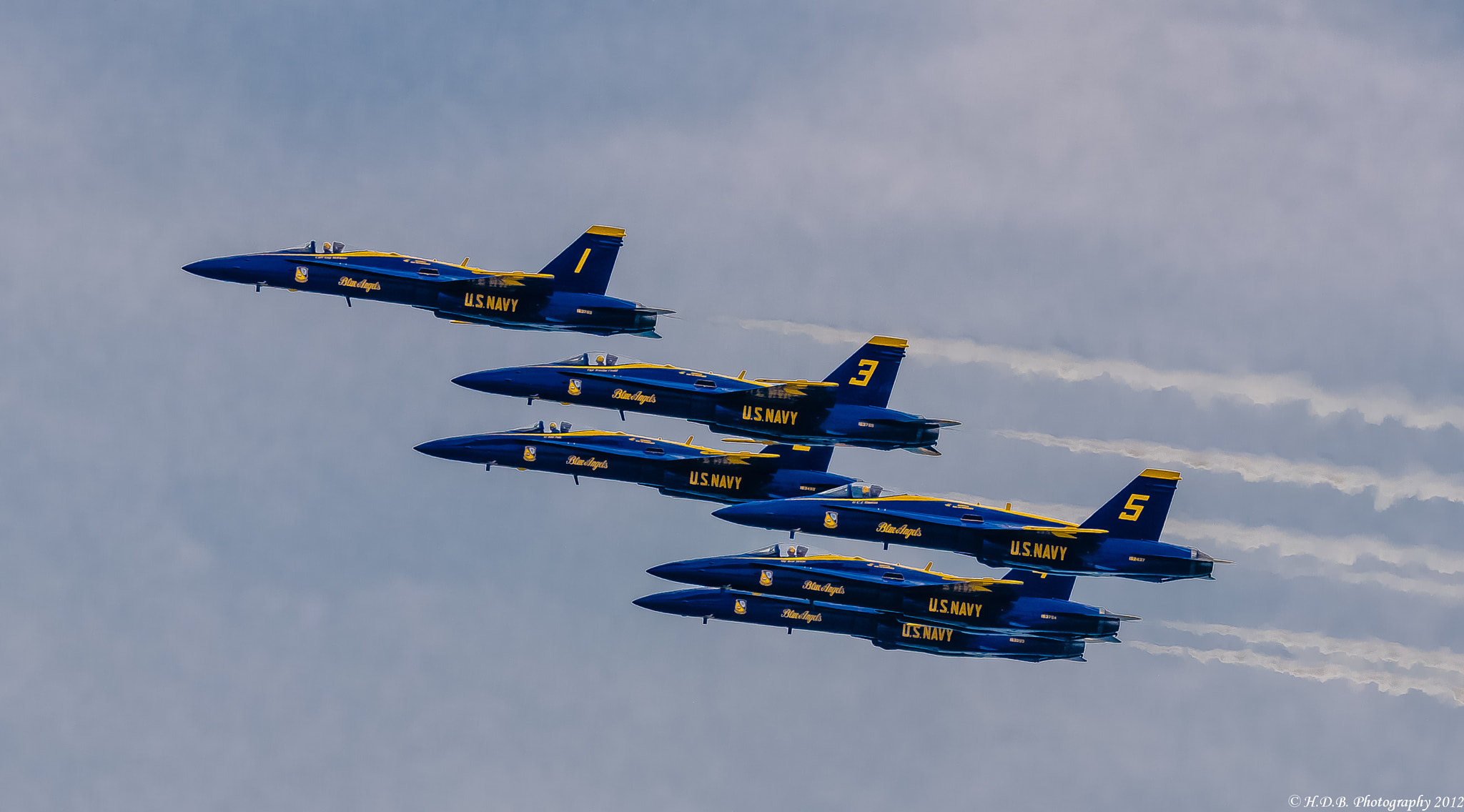 Photograph Six Man Formation by Harold Begun on 500px