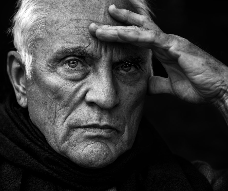 Terence Stamp by Betina La Plante on 500px.com