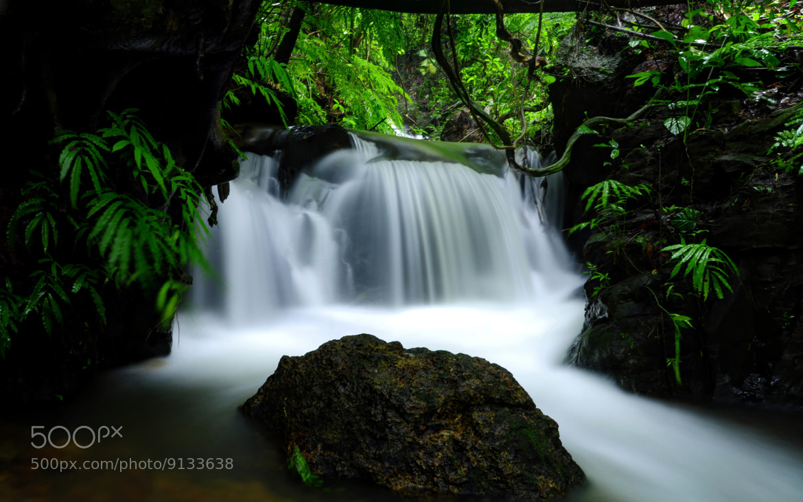 Photograph Water falls  by Deepak  Bhat on 500px