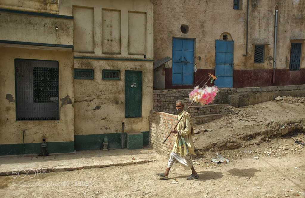 Photograph Cotton Candy Man by Blindman shooting on 500px