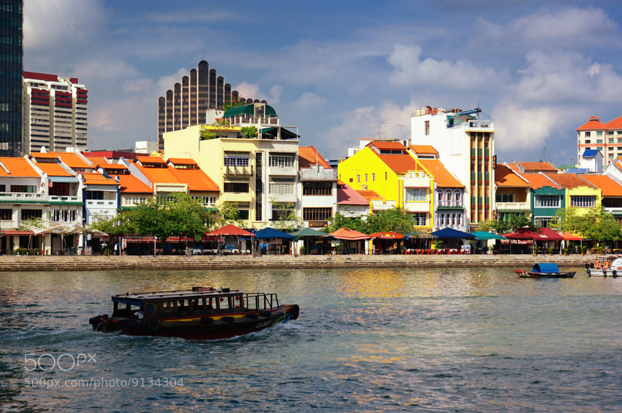 Photograph Singapore River (Boat Quay 驳船码头) #01 by Eddie Cheng on 500px