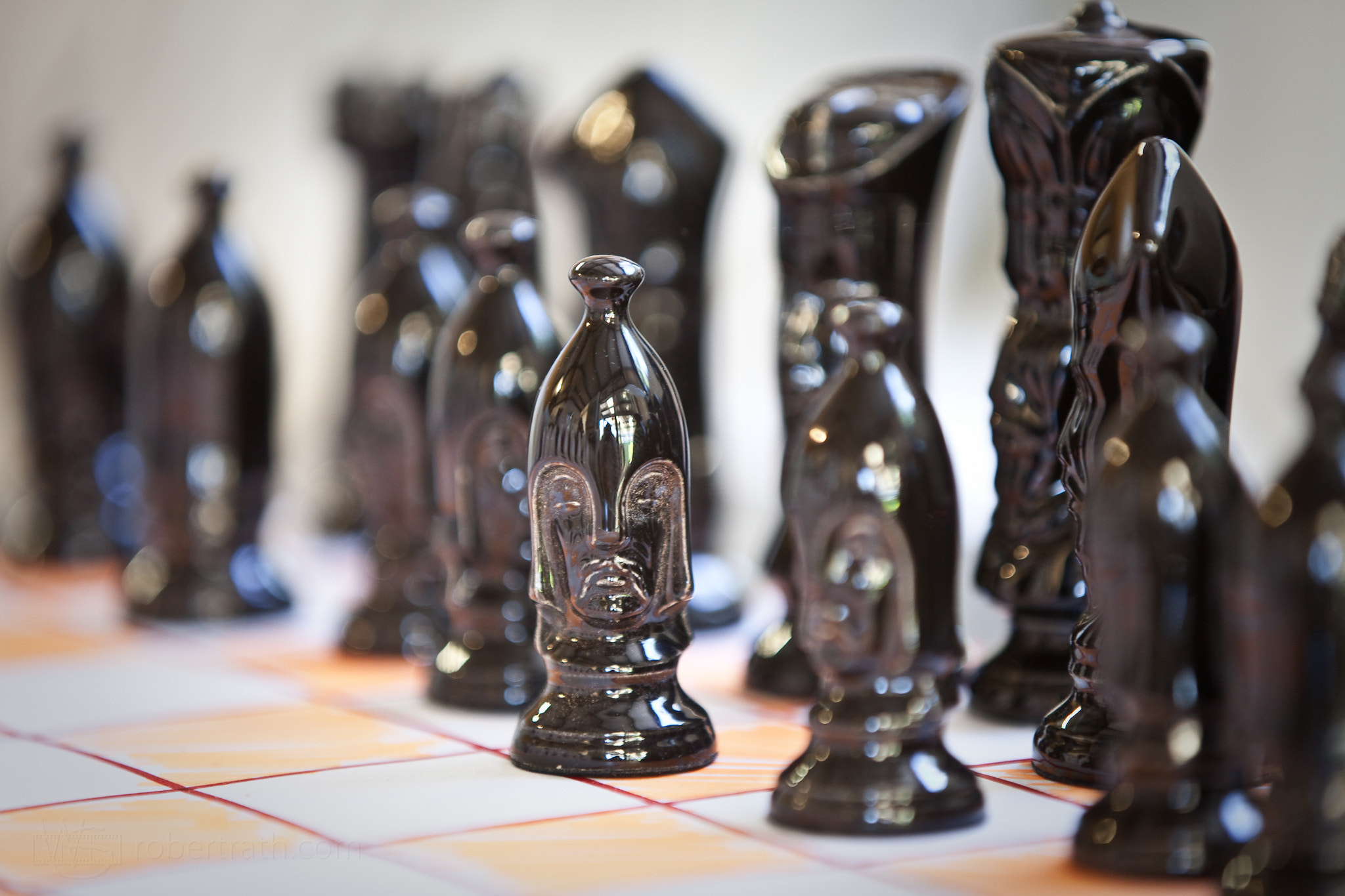 Photograph 366 Days Of 2012, Day 7 - Staring Pawn by Robert Rath on 500px