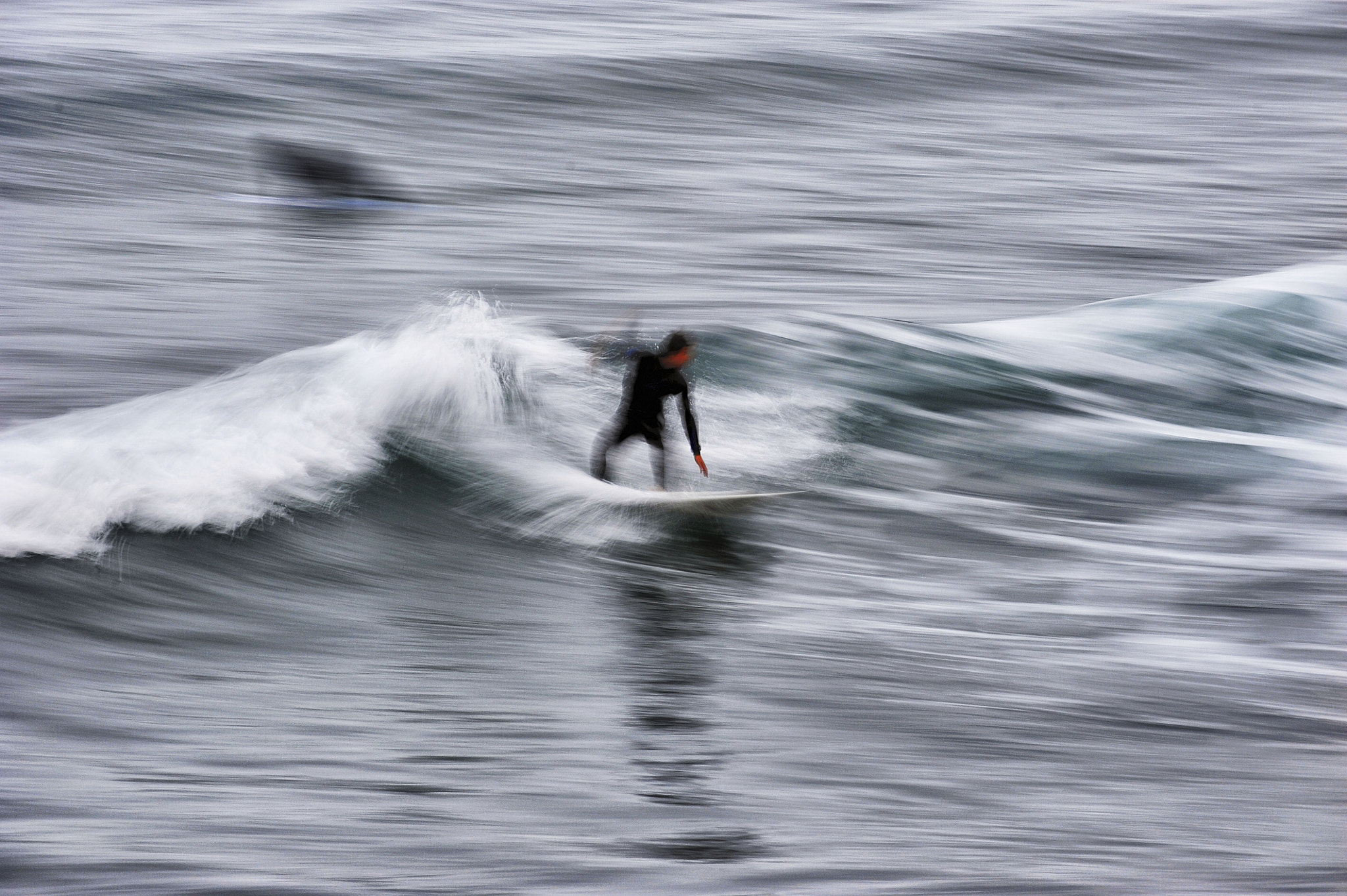 Photograph Surfer in Oceanside - July 2, 2012 by Rich Cruse on 500px