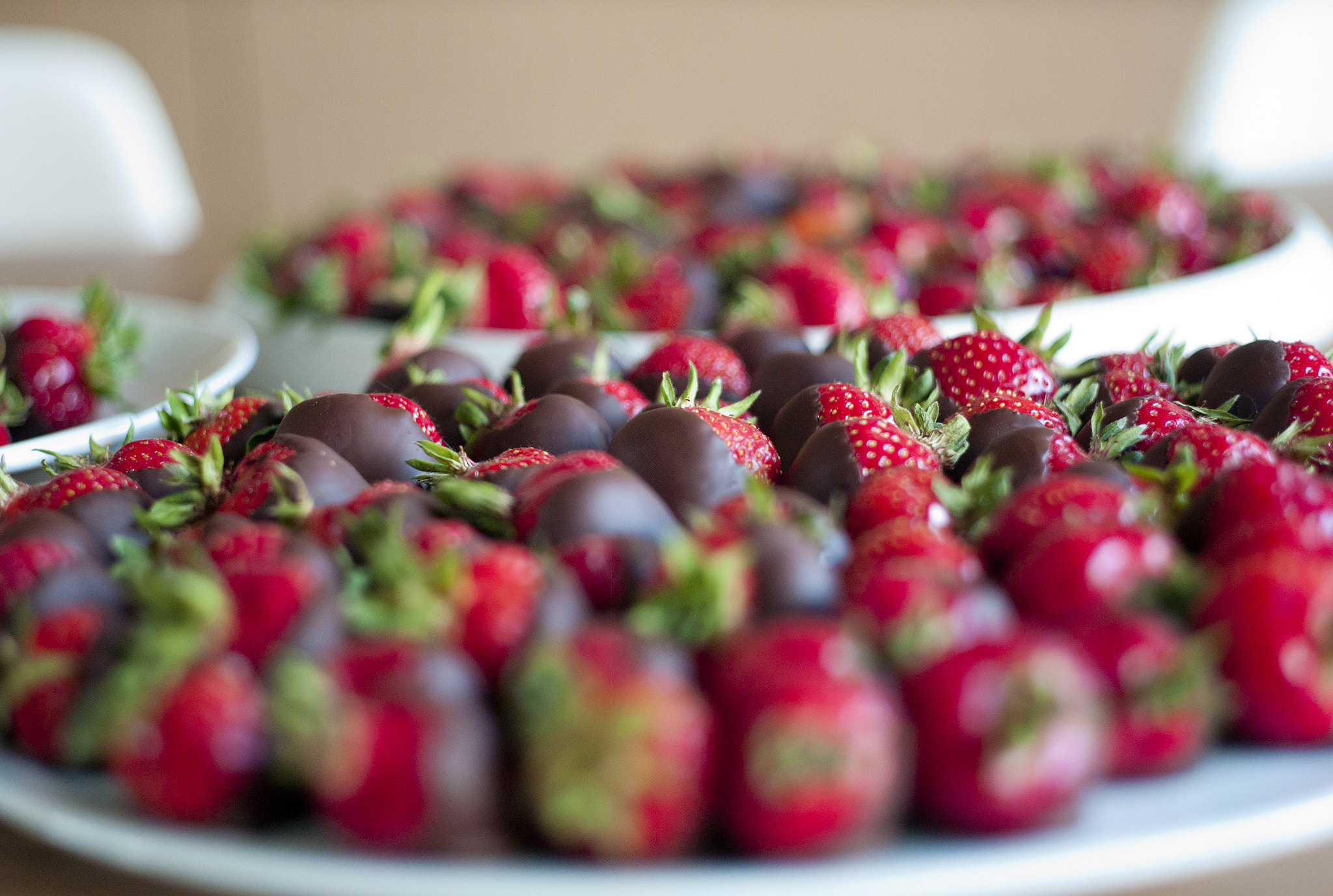 Photograph Chocolate Strawberries by erik spiekermann on 500px