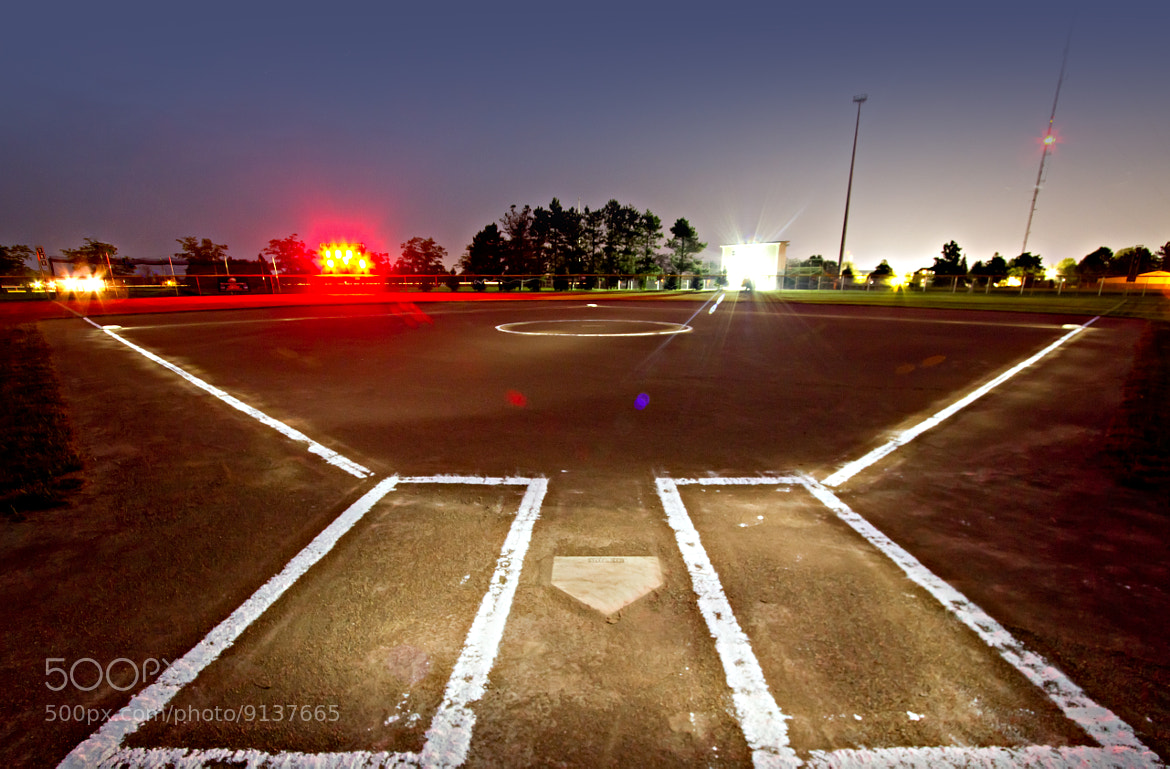 Photograph Glowing Softball Field by Ken Colwell on 500px
