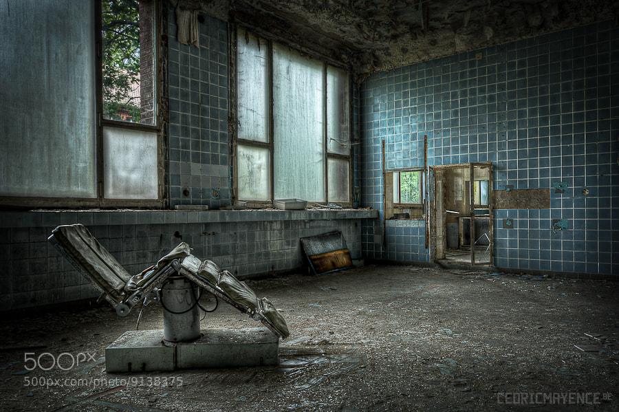 Photograph CCCP Hospital (DE) by Cédric Mayence on 500px