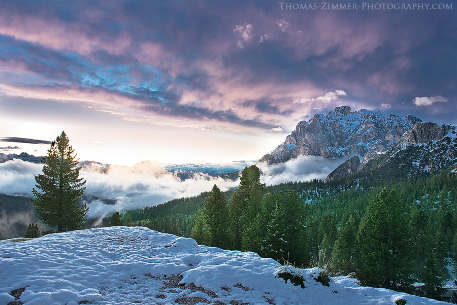 Photograph Violet Sky by Thomas Zimmer on 500px