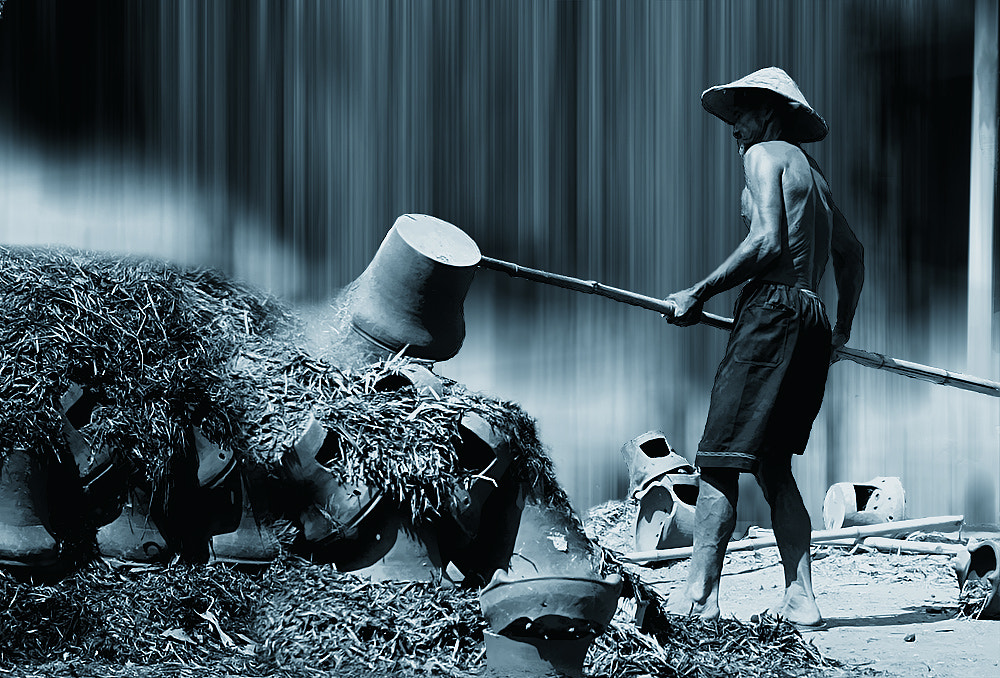 Photograph the burning pottery ( 2 ) by 3 Joko on 500px