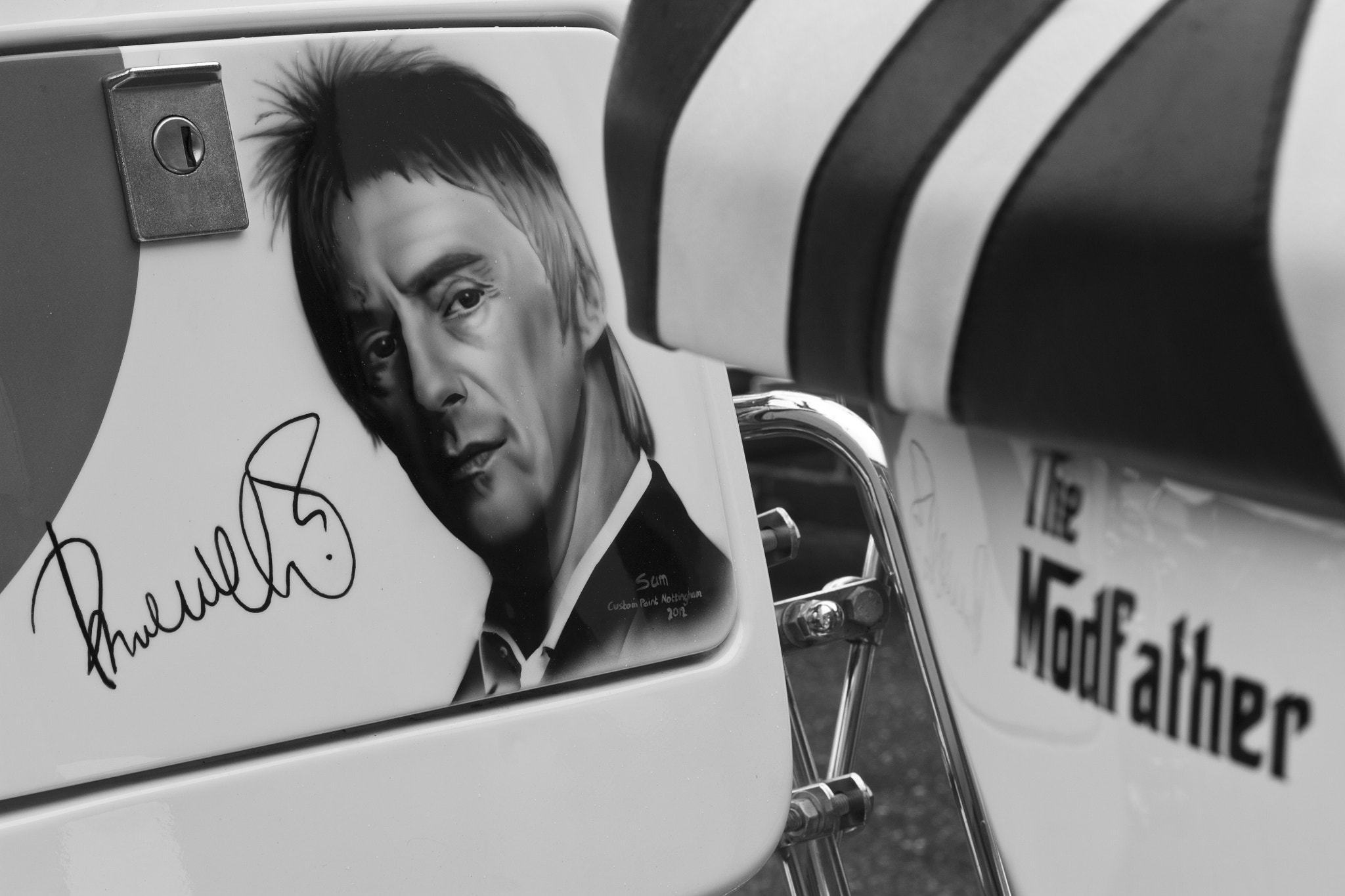 Photograph The Modfather (Vespa) by Graham Evans on 500px