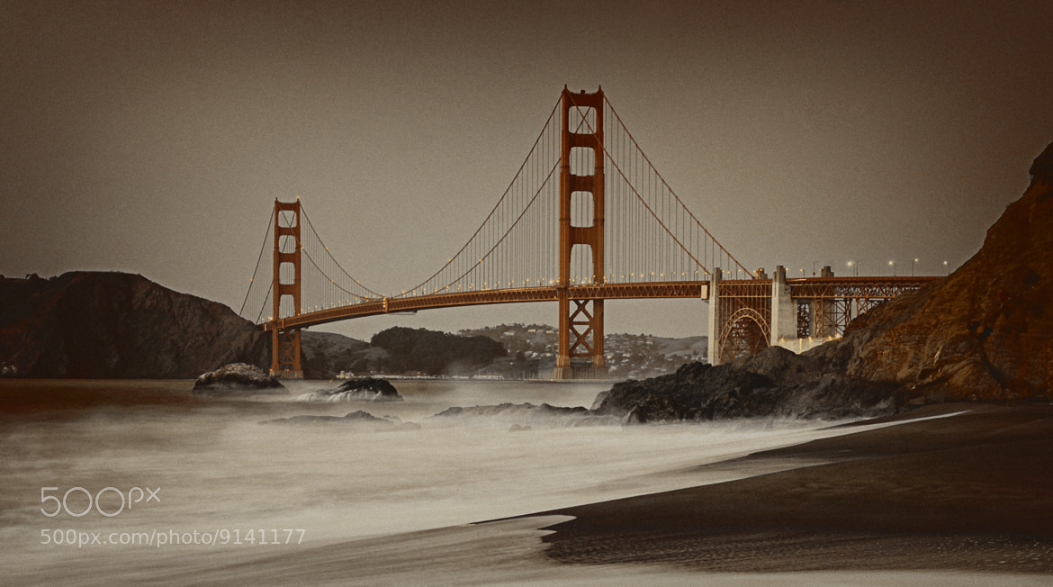 Photograph Golden Gate at sunset by  Sanchez on 500px