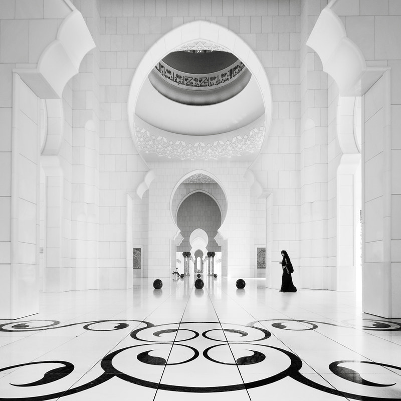 Photograph sheikh zayed mosque - study 3 by Ronny Behnert on 500px