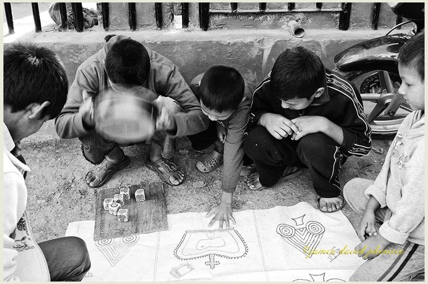 Nepal Series:  Street Game