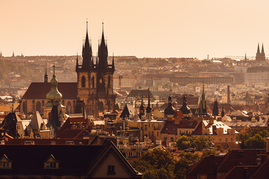 Magic Prague by Andrey Nikiforov on 500px.com