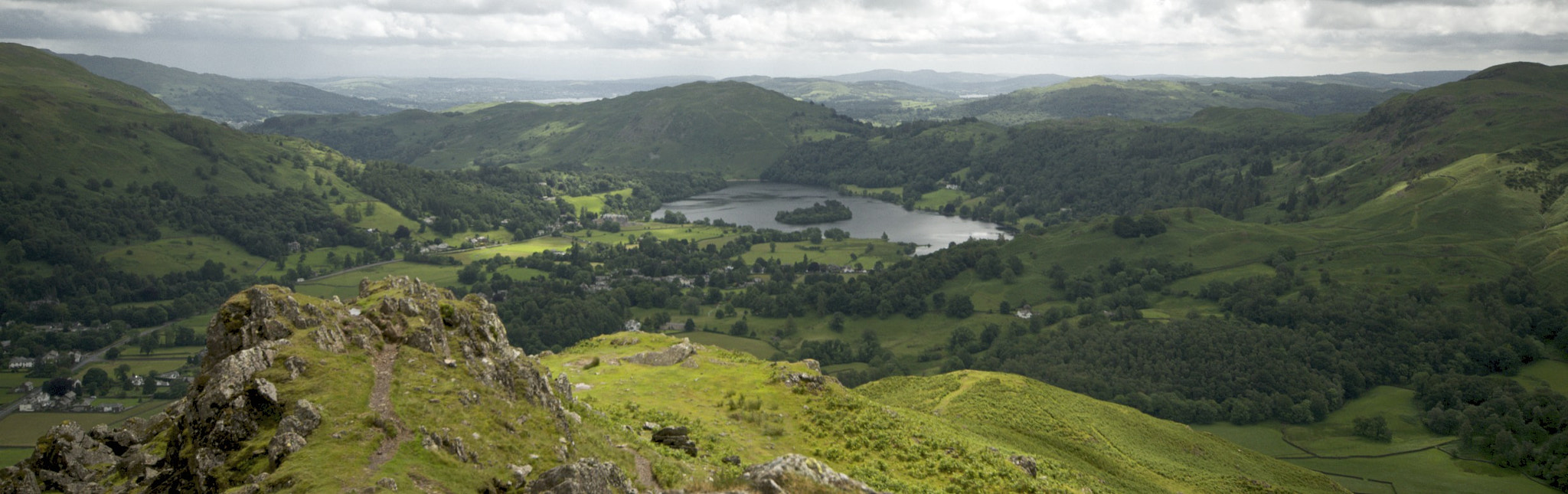Photograph Grasmere From Helm Crag by Ben Houghton on 500px