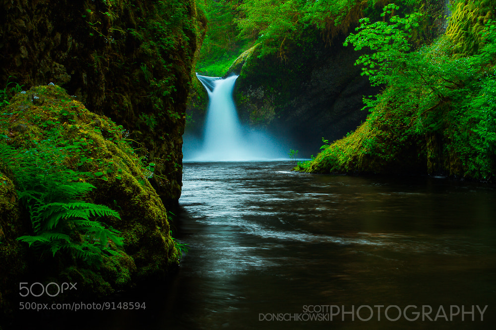 Photograph Punchbowl Falls by Scott Donschikowski on 500px