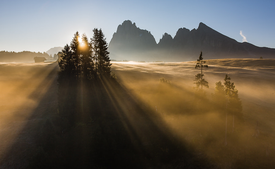 Photograph Alpe di Siusi Morning Sun by Hans Kruse on 500px