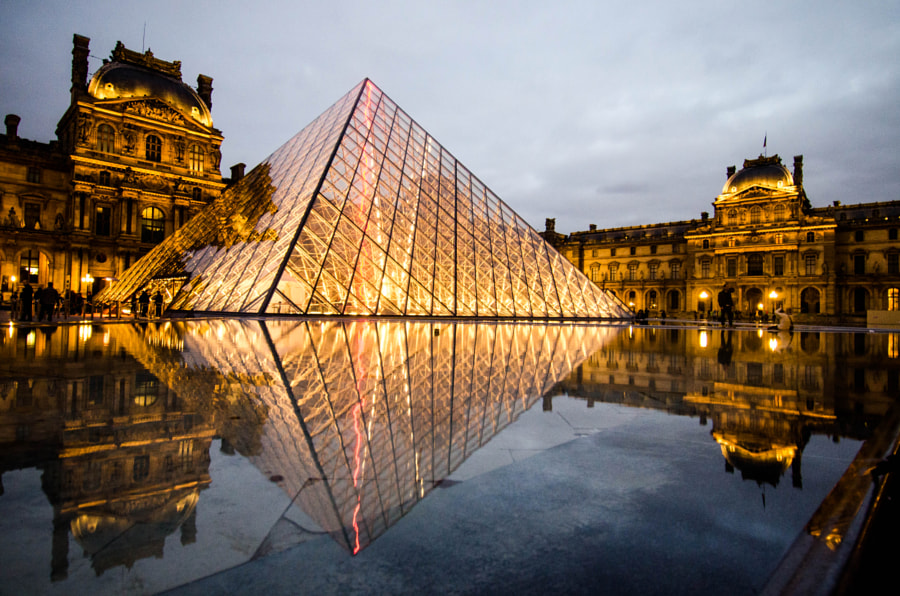 Louvre by Rachata Ausavarungnirun on 500px.com