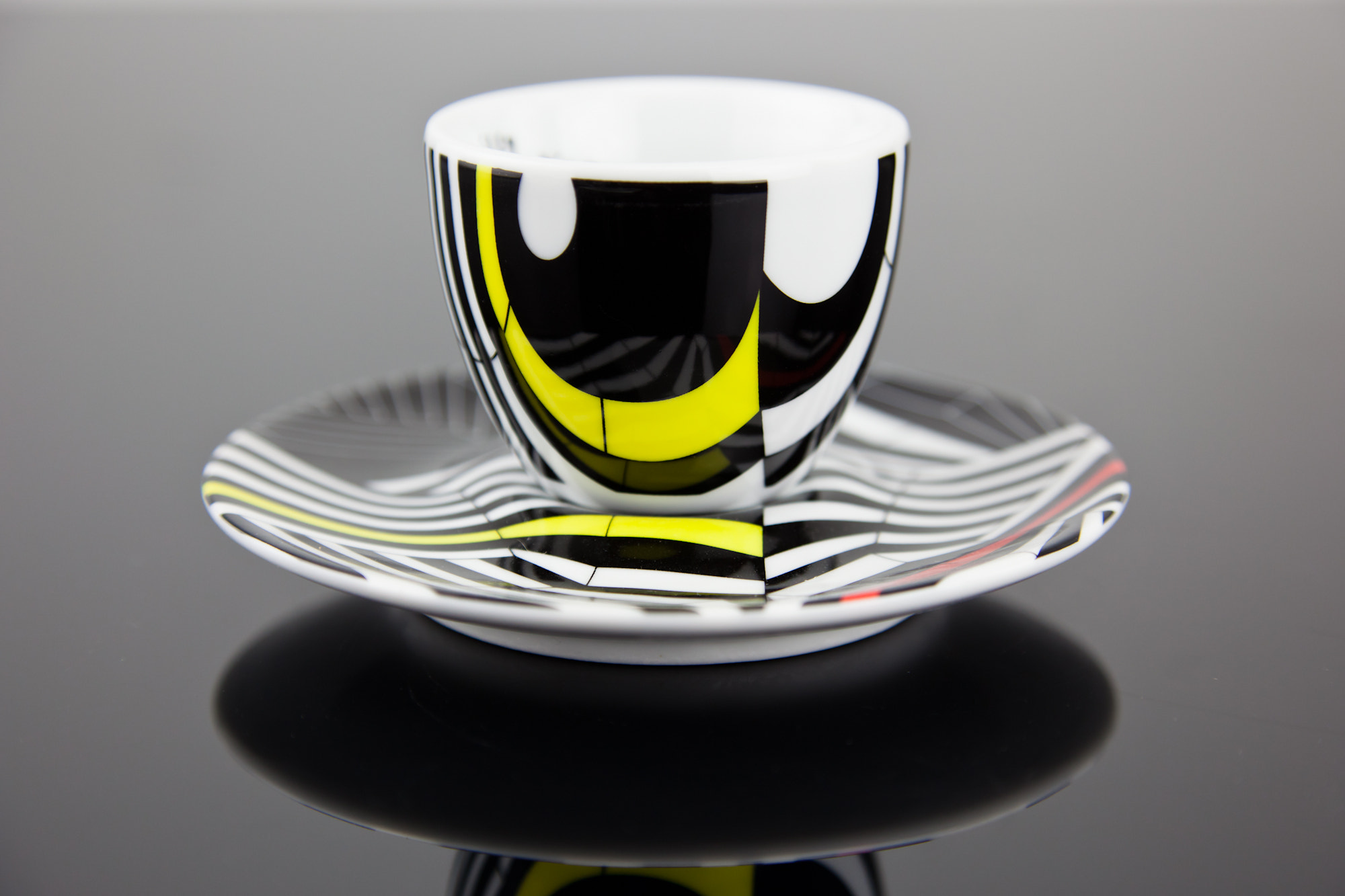 Photograph Beautiful Rehberger Espresso Cup and Saucer by Mark Prince on 500px