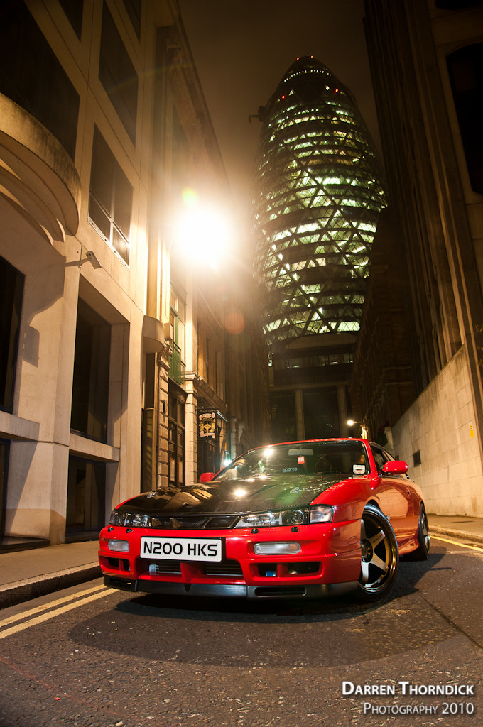 Photograph Nissan 200SX by Darren Thorndick on 500px